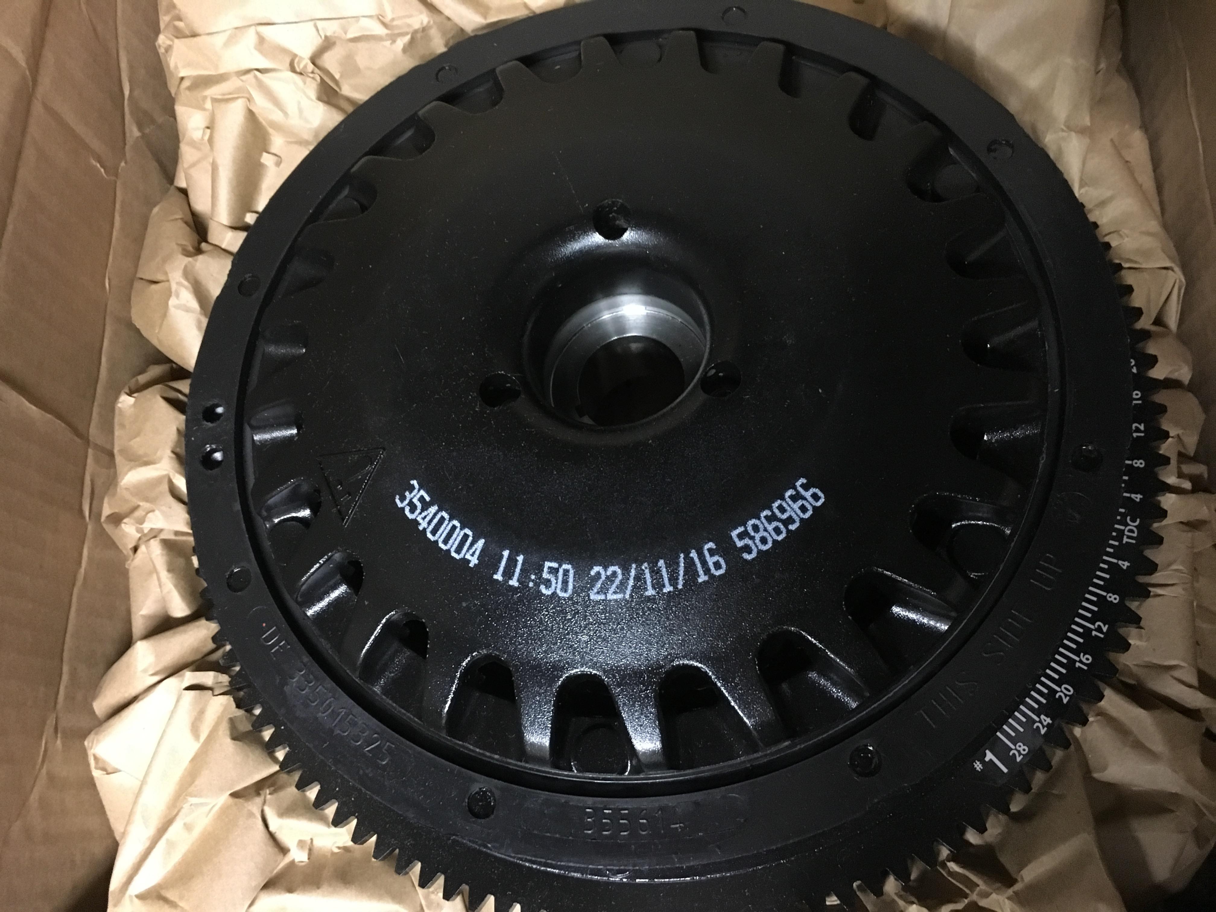 Evinrude BRP E-tec 115-200hp Flywheel Kit 5007967 C# 587013 ETEC