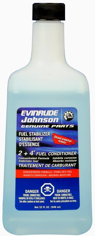 0766210 2 + 4 FUEL CONDITIONER 766210 32 OZ EVINRUDE JOHNSON BRP OMC