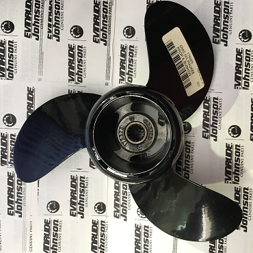 0175323 Evinrude-Johnson GENUINE 9.5x12.5 ALU Vintage Propeller  9.9&15HP 1995-2001 OMC