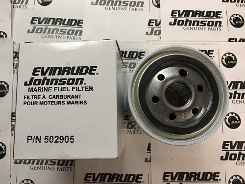 0502905 Johnson/Evinrude OMC OEM Water Separating Fuel Filter Canister 502905